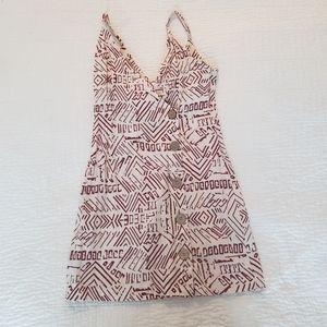 5 FOR 30!! Tribal Patterned Mini Sun Dress